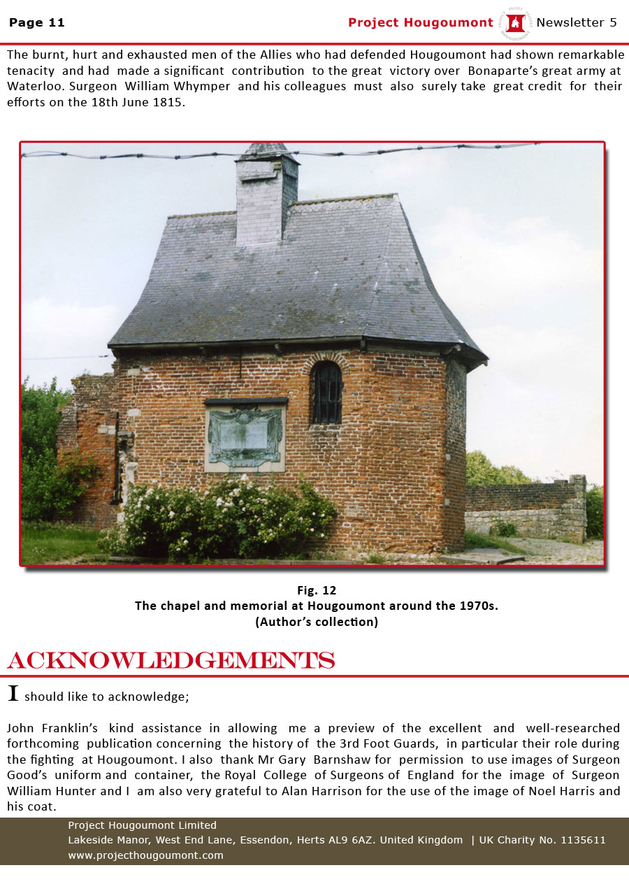 Project Hougoumont